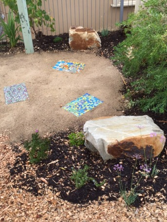 Rock and Garden Bed